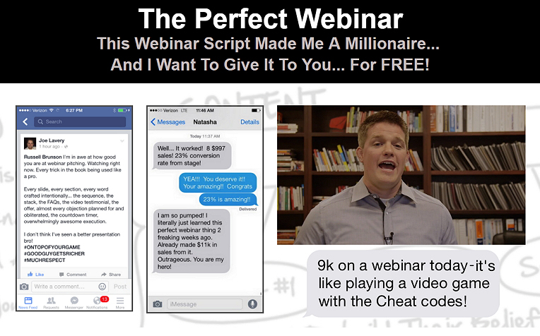 PERFECT WEBINAR TRAINING AND SCRIPT